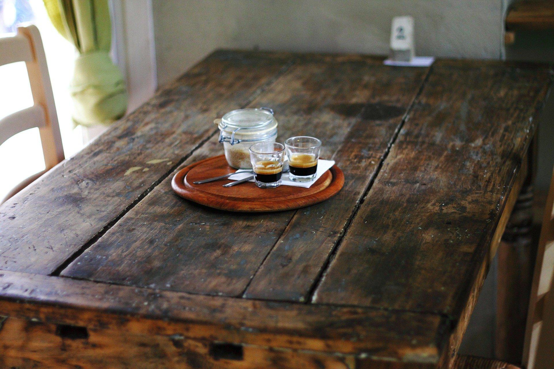 Rustik kaffebord